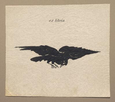 Édouard Manet, 'Raven in Flight (Ex Libris)', 1875