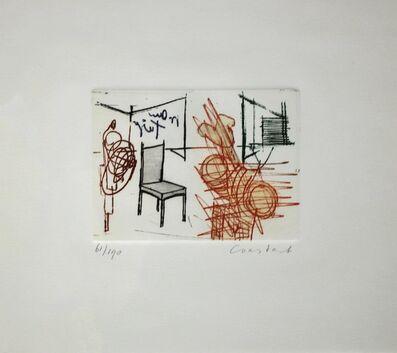 Constant, 'De stoel (The Chair)', 1971