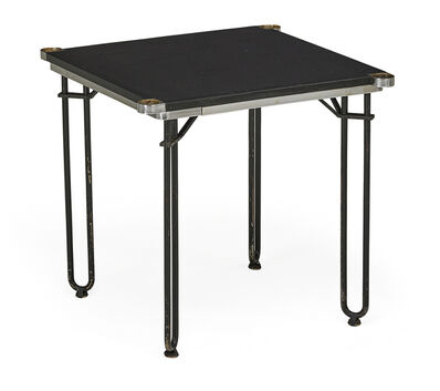 Schmieg, Hungate & Kontzian Inc., 'Game table commissioned for a Gramercy Park speakeasy, New York', 1930