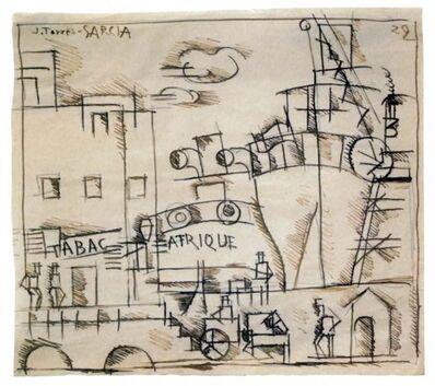 Joaquín Torres-García, 'Puerto Afrique', 1929