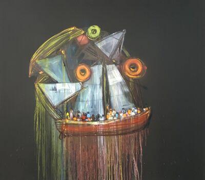 Kcho, 'Rostro Enmascarado (Masked Face)', 2020