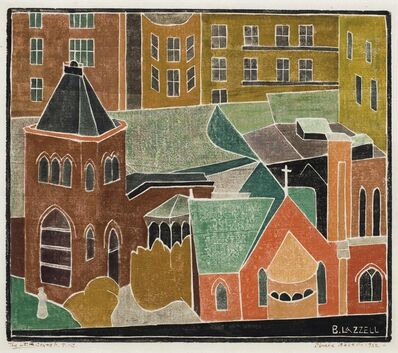 Blanche Lazzell, 'Little Church', 1952