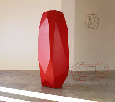 ARIK LEVY, 'RockStone 198 Red', 2015