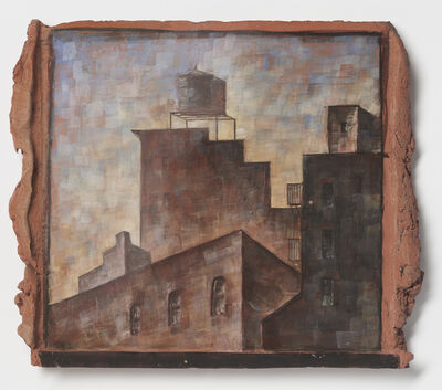 Lidya Buzio, 'Untitled (Rooftop with watertank)', 1985