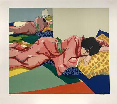 Tadashi Asoma, 'Red Kimono', ca. 1983