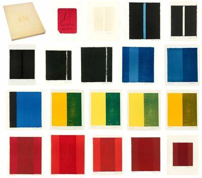 Barnett Newman, '18 Cantos', 1963-1964