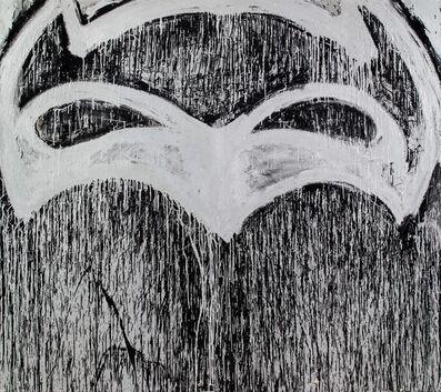 Joyce Pensato, 'Silver Batman for Berlin (to be titled in Berlin)', 2015