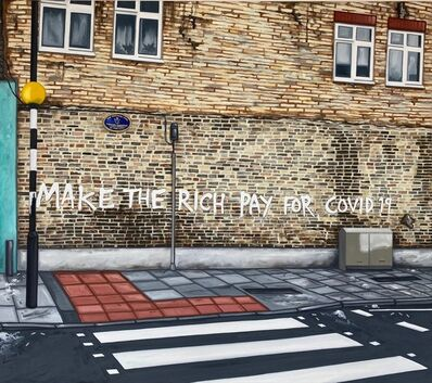 Stephen Harwood, 'Make The Rich Pay For Covid-19', 2020