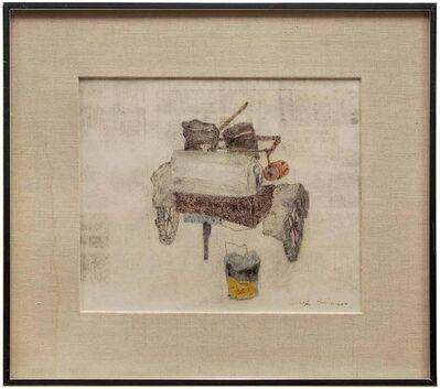 Joseph Solman, 'Old Fire Wagon, Monotype', 20th Century