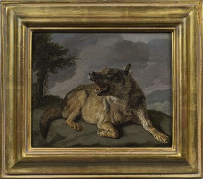 Carl Borromäus Andreas Ruthart, 'A Wolf', ca. 1665
