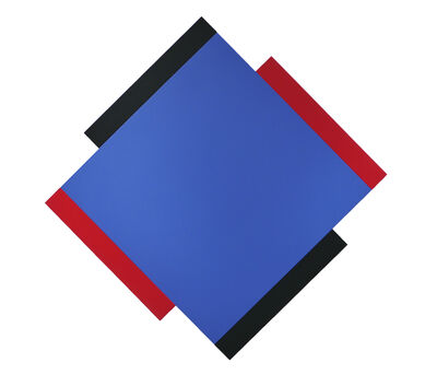 Scot Heywood, 'Centric Blue / Red / Black'