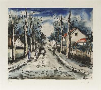 Maurice de Vlaminck, 'Apres I'Orage after de Vlaminck', 1956