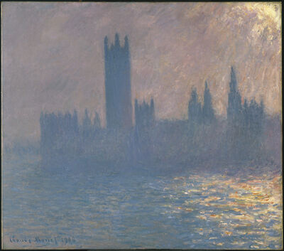 Claude Monet, 'Houses of Parliament, Sunlight Effect (Le Parlement, effet de soleil)', 1903