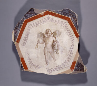 'Fresco Depicting Cupid holding Two Sticks and a Pail',  1st century