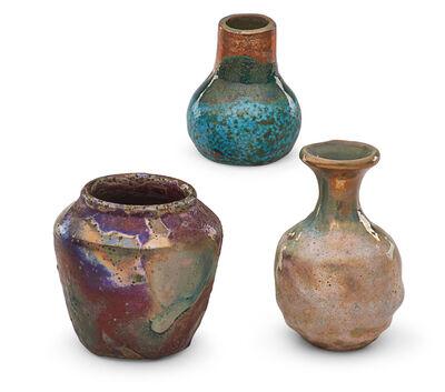 Pewabic Pottery & Ceramics, 'Three cabinet vases'