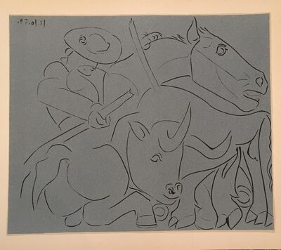 Pablo Picasso, 'The Broken Lance', 1962