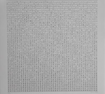 Manfred Mohr, 'Cubic Limit', 1976