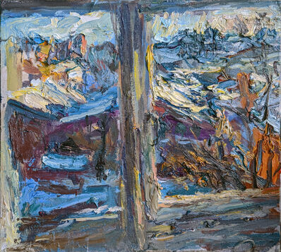 Ulrich Gleiter, 'View from My Studio - Bright Winter Day', ca. 2020
