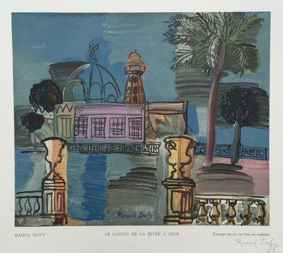 Raoul Dufy, ' Le Casino de la Jetée a Nice', 1950
