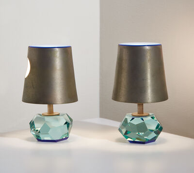 Max Ingrand, 'Pair of table lamps, model no. 2228', circa 1963