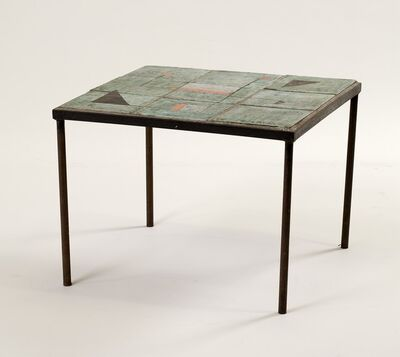 Les Deux Potiers, 'Side Table', ca. 1960