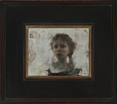 Ron Hicks, 'Girl with Braids'