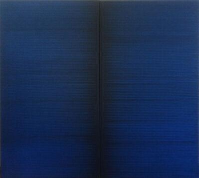 Irma Blank, 'Radical Writings, Schriftzug=Atemzug 19-8-88', 1988