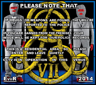 Gilbert and George, 'E VII R', 2014