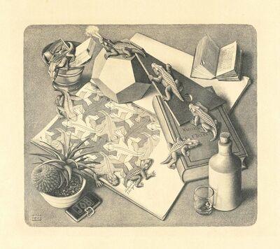 Maurits Cornelis Escher, 'Reptiles', 1943