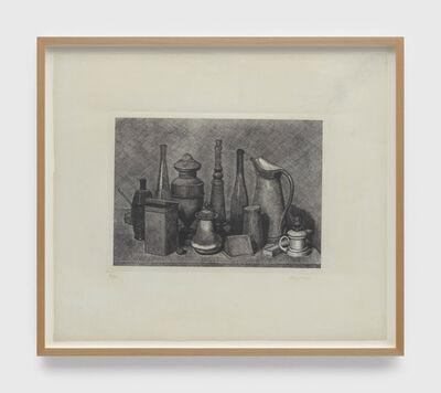 Giorgio Morandi, 'Grande natura morta con la lampada a destra (Large still life with the lamp on the right)', 1928