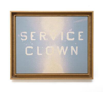 Ed Ruscha, 'Service Clown', 2013