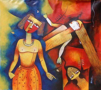 Prakash G Nayak, 'Goddess 1', 2017