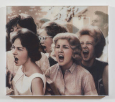 """Bradley McCallum, '""""ANGRY WOMAN-AFTER UNIDENTIFIED PHOTOGRAPHER NEW YORK PUBLIC LIBRARY IMAGE COLLECTION""""', 2014"""