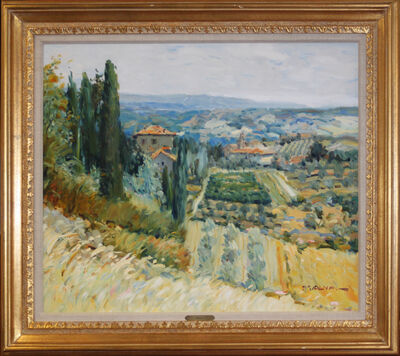 George Malva, 'Tuscan Countryside', 1980-1989