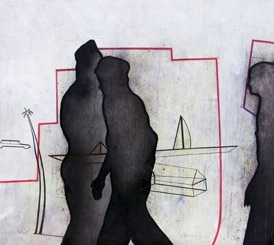 Sergio Payares, 'Shadow City', 2007