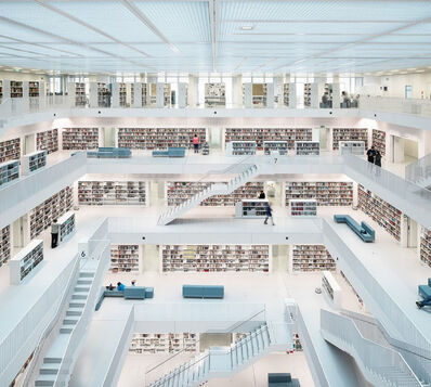 Reinhard Gorner, 'Reading Room, City Library Stuttgart', 2014