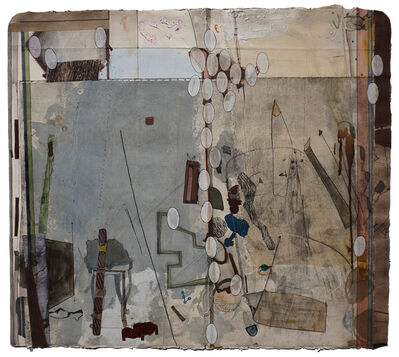 Mekhala Bahl, 'A cat behind the pillar', 2016
