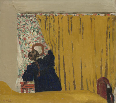 Édouard Vuillard, 'The Yellow Curtain', 1893