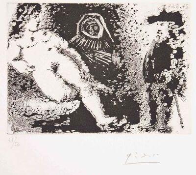 Pablo Picasso, 'Celestine – Fille et vieux client', 1968