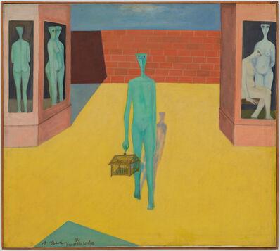 Ahmed Morsi, 'Walking the Bird I', 1971