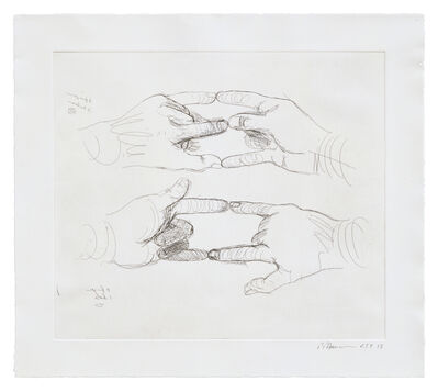 Bruce Nauman, 'Untitled (from 'Fingers and Holes')', 1994