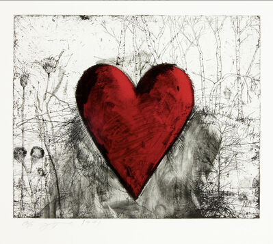 Jim Dine, 'The Little Heart in a Landscape', 1991