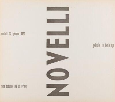 Gastone Novelli, 'Novelli', 1960