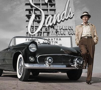 Frank Worth, 'Frank Sinatra at Sands Hotel', 1950-1960