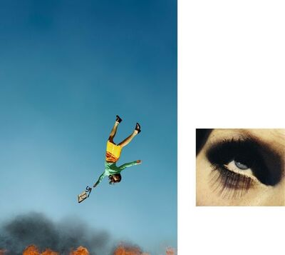 Alex Prager, '10:58 am Bunker Hill and Eye #7 (Suicide) (diptych)', 2012
