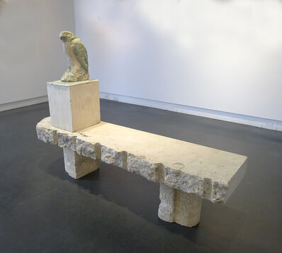 Jane Rosen, 'Egyptian Falcon on bench', 2013