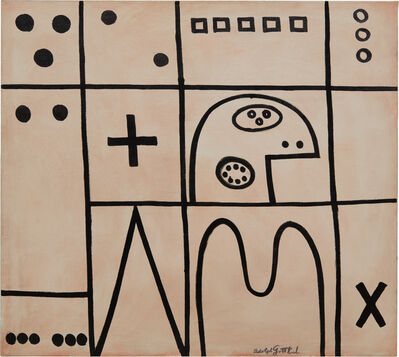 Adolph Gottlieb, 'Plus', 1950
