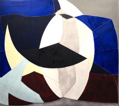 David A. Dreyer, 'Black Ginkgo, Kimono Moon', 2015