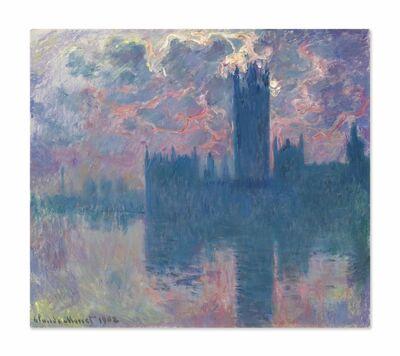 Claude Monet, 'Le Parlement, soleil couchant (The Houses of Parliament, at Sunset)', 1900-1901