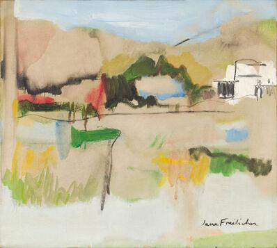 Jane Freilicher, 'Landscape in Water Mill', 1962